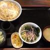 やぶ忠 - 料理写真:かつ丼セットそば無し  1,240円
