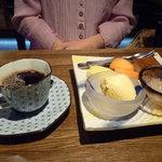 仙之助 - デザートとコーヒー