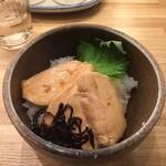 Menshoutakamatsu - 鶏の漬け丼 280円
