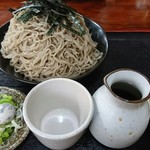 奥信州 - 蕎麦  普通盛り
