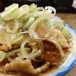 神田 カミヤ - 鶏皮ポン酢。