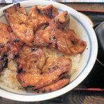 ぶたいち - ロース豚丼 670円 2011.11