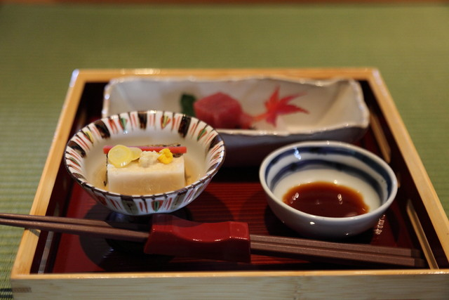 泉岳寺門前 紋屋の料理の写真