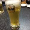 餃子の富都 - ドリンク写真:ビールはアサヒでした