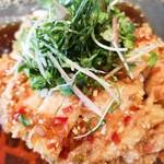 Shirinfanronyun - 鶏の唐揚げ油淋ソース