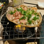 魚や一丁 - かに味噌甲羅焼き