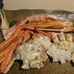 魚や一丁 - 焼きズワイガニ
