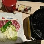 魚や一丁 - ラム焼き肉