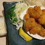 魚や一丁 - ホタテフライ