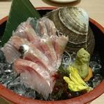 魚や一丁 - にしんの刺身