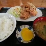 村上食堂 - 料理写真:から揚げ定食