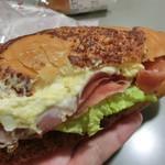 ライフ - チーズサンドポークベーコン、ジューシーメンチかつバーガー