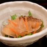 目黒の和食 さとう - 【鯛茶漬け@税込1,200円】鮭の南蛮漬け
