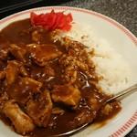 焼肉 もんもん - ホルモンカレー390円