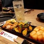 Yakinikuzettokitamachi - 前菜盛り合わせ(キムチ)