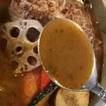 カイエン オルタナ - スープはこんな感じ