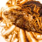 洋食亭ブラームス - ご飯混ぜる