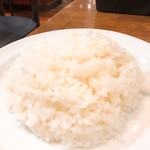 洋食亭ブラームス - ご飯