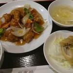 Kai Hin Rou - 酢豚定食880円