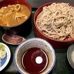 ぶんぶく庵 - カレー丼セット@1000円   お値打ちだね!普通に美味しい♪