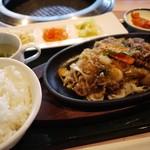 焼肉 徳寿 - 料理写真:ランチのプルコギ定食