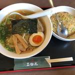 三国志 - 料理写真:炒飯&ラーメンセット