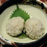 地方の肴とおもてなし 「庵」 - 幻のもち米のしゅうまい