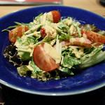地方の肴とおもてなし 「庵」 - 野菜サラダ