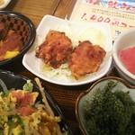 沖縄料理 なんくるないさ - まぐろの色、、、