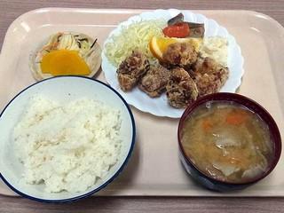 ルナパーク - 唐あげ弁当 580円