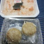 万弥 - 焼売と鮭御飯