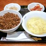 三幸園 - ■焼肉丼 1200円