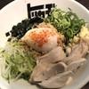 らぁめん トリカヂ イッパイ - 料理写真:まぜそば。麺とタレは全く見えませんが、よくかき混ぜて!
