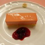 ピッツェリア・サバティーニ - パティシイエ特製苺のムース