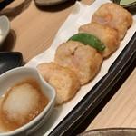 八吉 - 海老しんじょうの挟み揚げ980円