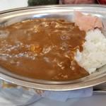 カレーショップ インデアン - 料理写真:インデアンカレー辛口(税込453円)