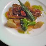 ビストロ・プラ・ド・ターチー - 料理写真:メインのお魚