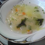 ビストロ・プラ・ド・ターチー - スープ