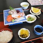 いけす料理 ふくずみ - 刺身定食\1300(税別)