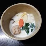 笹乃雪 - 雲水 豆乳蒸し