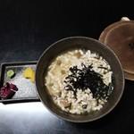 笹乃雪 - うずみ豆腐(お茶漬け)
