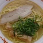 自家製麺 竜葵 - 料理写真:日本三大地鶏極上塩らぁ麺 (下松ラーメン博2019)