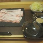 104698938 - 鹿児島黒豚しゃぶしゃぶ ¥1500 この他にご飯あり。