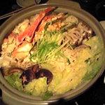 902 - 寄せ鍋(蟹、鯛、ほたて、鶏肉、野菜、豆腐etc・・・)
