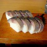1047714 - 鯖寿司は8切れでした