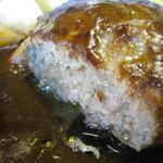 手作りハンバーグ グリルふそう - 肉汁じんわり・・・