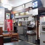 若松そば - 店内(旧店舗)