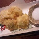 食彩にじ - 鱈白子天ぷら