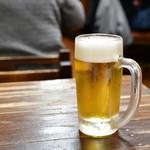 遠州屋 - キリン一番搾り生ビール(中ジョッキ)@税込500円