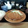 とん皇 - 料理写真:大判ロースかつ定食(950円)